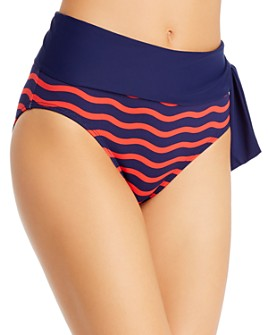 Tommy Bahama - Sea Swell High-Waist Bikini Bottom