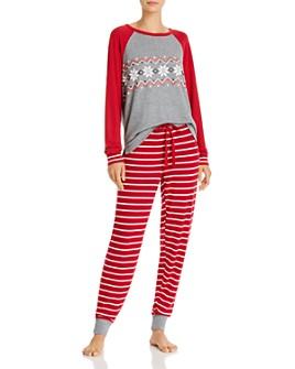 PJ Salvage - Holiday Trim Pajama Set - 100% Exclusive
