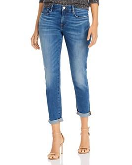 FRAME - Le Garcon Slim Boyfriend Jeans in Riley