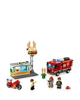 LEGO - City Burger Bar Fire Rescue Set - Ages 5+