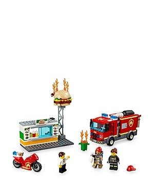 Lego City Burger Bar Fire Rescue Set - Ages 5+