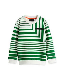 Scotch Shrunk - Boys' Geometric Striped Sweatshirt - Little Kid, Big Kid