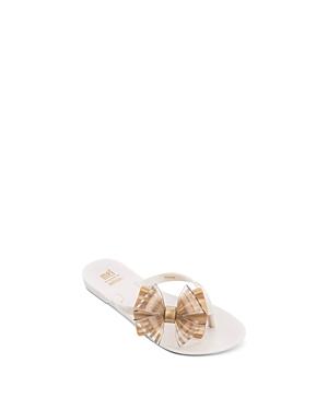 Mini Melissa Girls\\\' Harmonic Bow Flip Flops - Toddler, Little Kid, Big Kid