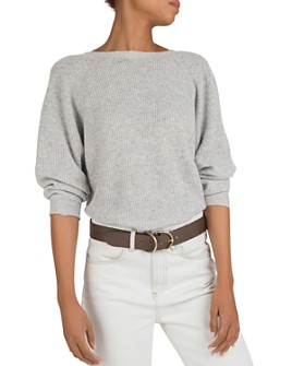 ba&sh - Cramy Twist-Back Cashmere Sweater