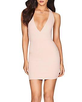 Nookie - Jasmine Plunging Open-Back Mini Dress