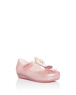 Mini Melissa - Girls' Ultragirl Ballerina Mary-Jane Flats - Walker, Toddler