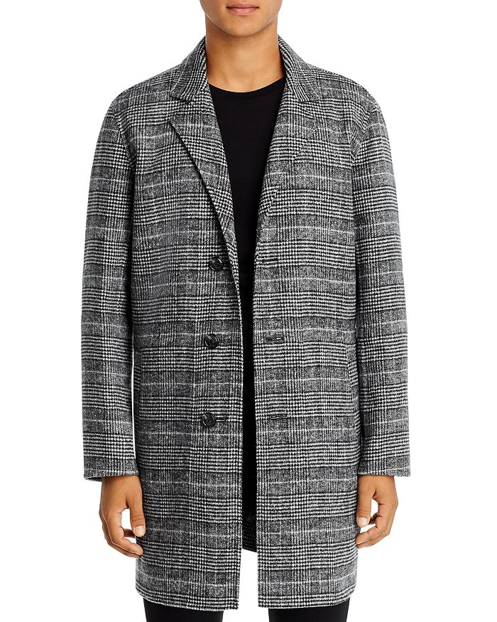 7 For All Mankind Glen Plaid Coat
