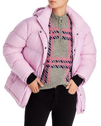 AQUA - Short Hooded Puffer Coat - 100% Exclusive