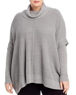 AQUA Curve - Poncho Sweater - 100% Exclusive