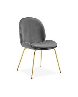 Modway - Scoop Velvet Dining Chair