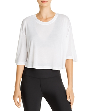 Alo Yoga Tops VERVE CROPPED TEE