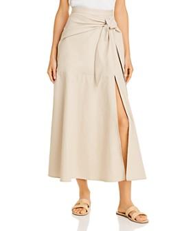 Gary Bigeni - Cardina Faux-Wrap Skirt