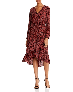 Rails Jade Tiger Print Midi Dress