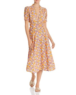 Faithfull the Brand - Meadows Floral-Print Midi Dress