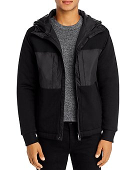 BOSS - Seeger Hooded Mixed-Media Jacket