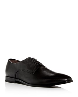 BOSS - Men's Highline Embossed Leather Plain-Toe Oxfords
