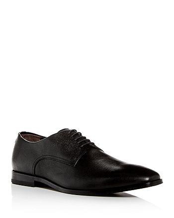 BOSS - Men's Highline Embossed Leather Plain-Toe Oxfords