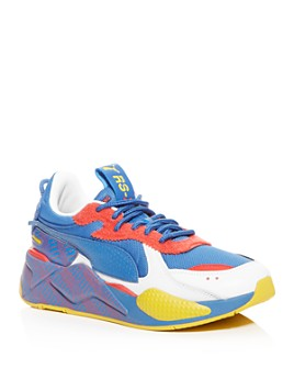 PUMA - Men's RS-X Subvert Mixed Media Low-Top Sneakers