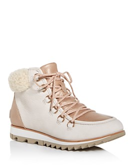 Sorel - Women's Harlow Lace Lux Waterproof Booties