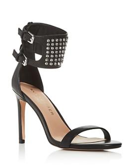 KURT GEIGER LONDON - Women's Seth Embellished Ankle Strap High-Heel Sandals