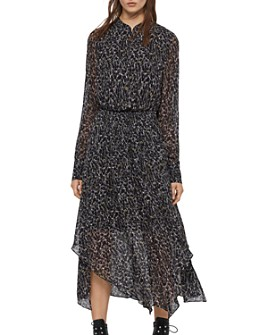 ALLSAINTS - Valeria Waterleo Midi Dress