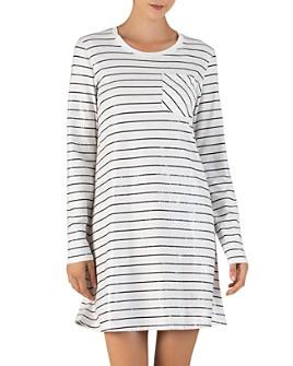 ATM Anthony Thomas Melillo - Striped Jersey T-Shirt Dress