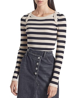 Current/Elliott - The It Girl Striped Top