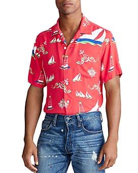 Polo Ralph Lauren - Sailboat Camp Custom Fit Shirt