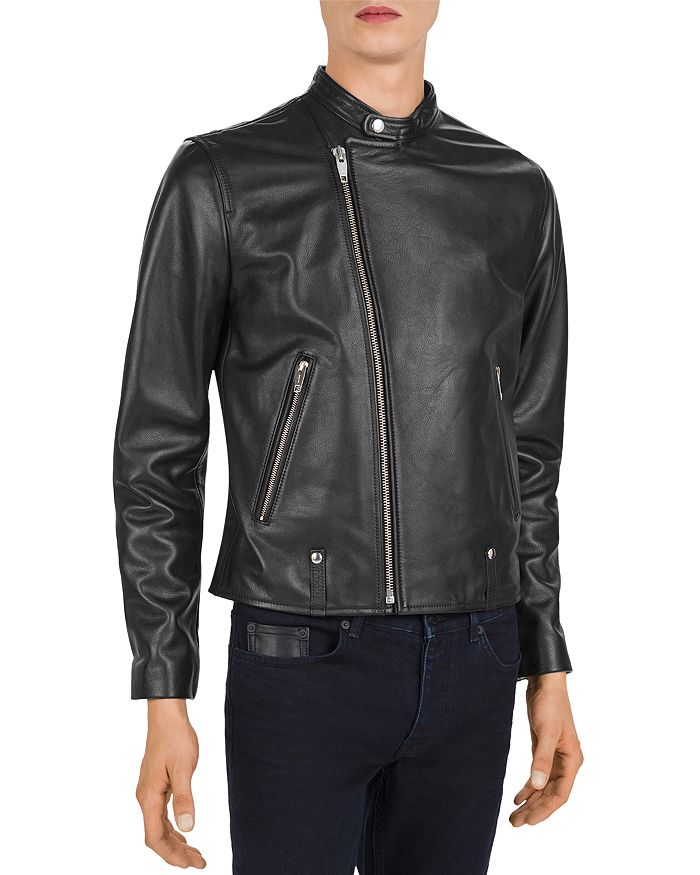 The Kooples - Irish Leather Motocross Jacket