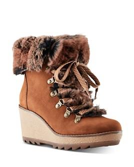 Cougar - Women's Waterproof Wedge Heel Booties