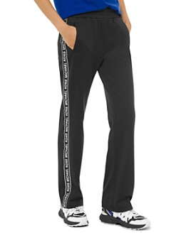 MICHAEL Michael Kors - Logo-Stripe Ponte Track Pants