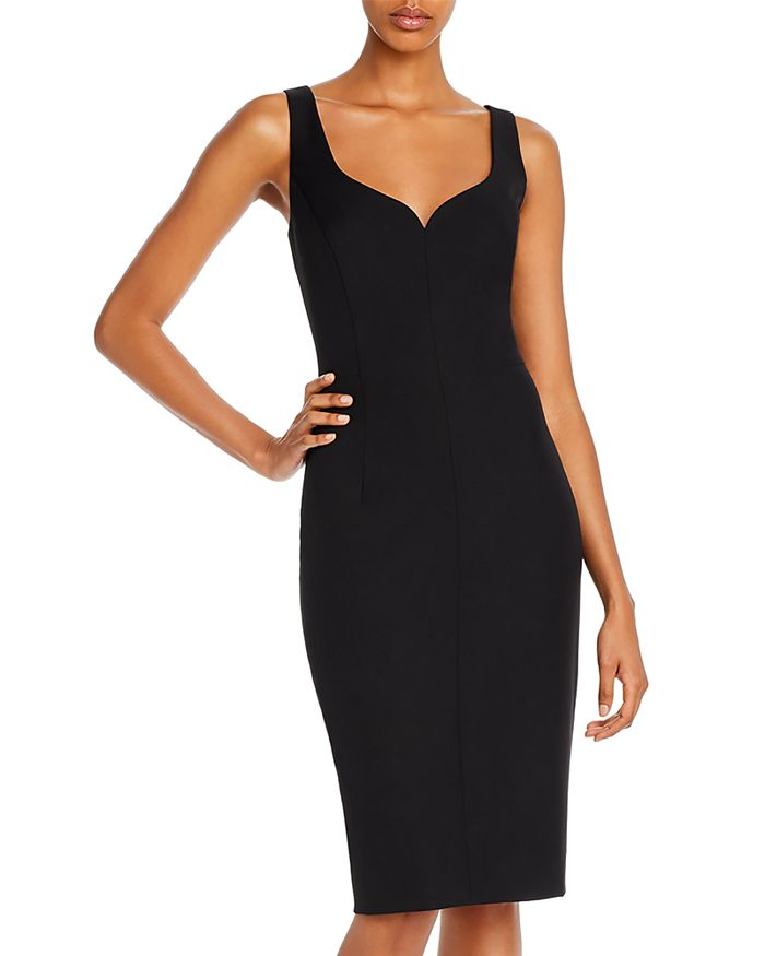 MILLY - Cady Elizabeth Sweetheart Neck Cocktail Dress