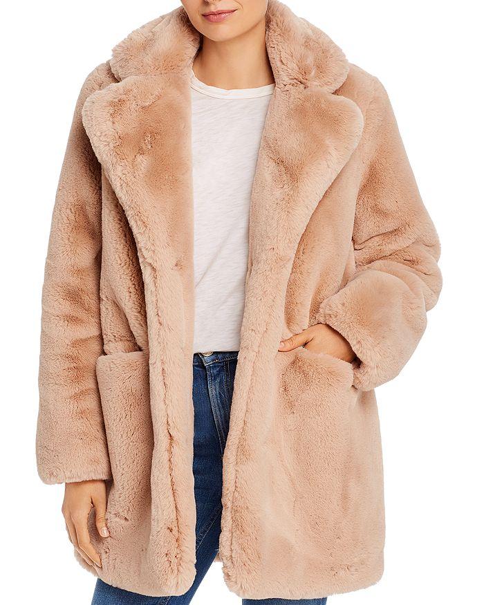 Apparis Coats SOPHIE FAUX FUR COAT