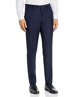 BOSS - Genius Micro Check Slim Fit Dress Pants