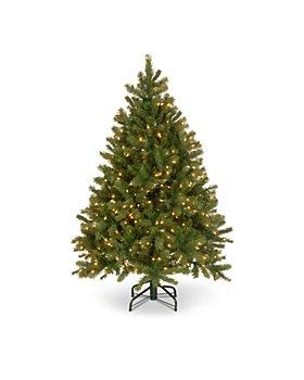 National Tree Company - 4.5 ft. Downswept Douglas® Fir Tree with Clear Lights
