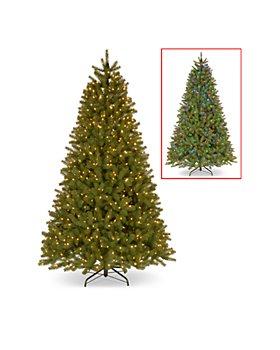 National Tree Company - 9 ft. Downswept Douglas® Fir Tree with Dual Color® LED Lights
