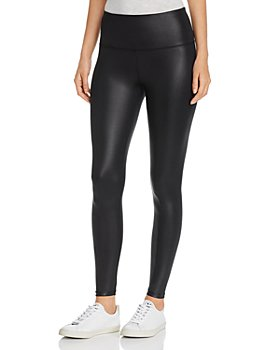 Marc New York - Coated Liquid Jersey Leggings