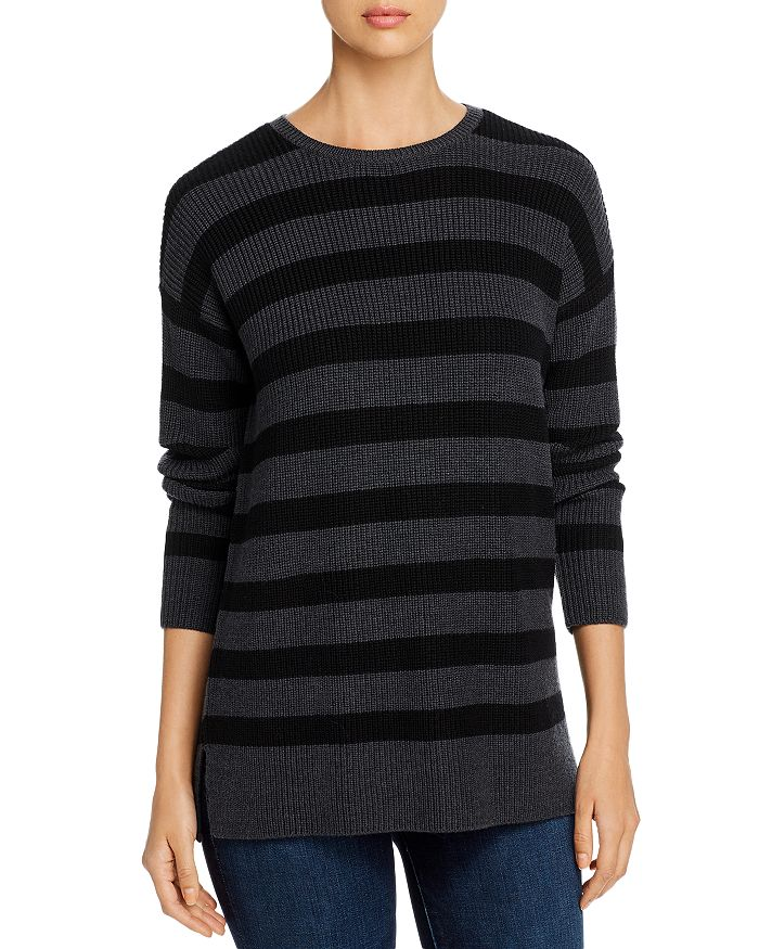 Eileen Fisher - Striped Tunic Sweater