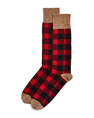 The Store at Bloomingdale's Holiday Plaid Socks