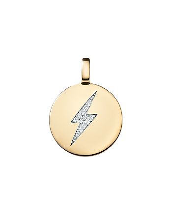 CHARMBAR - Reversible Bolt Charm in Sterling Silver or 14K Gold-Plated Sterling Silver