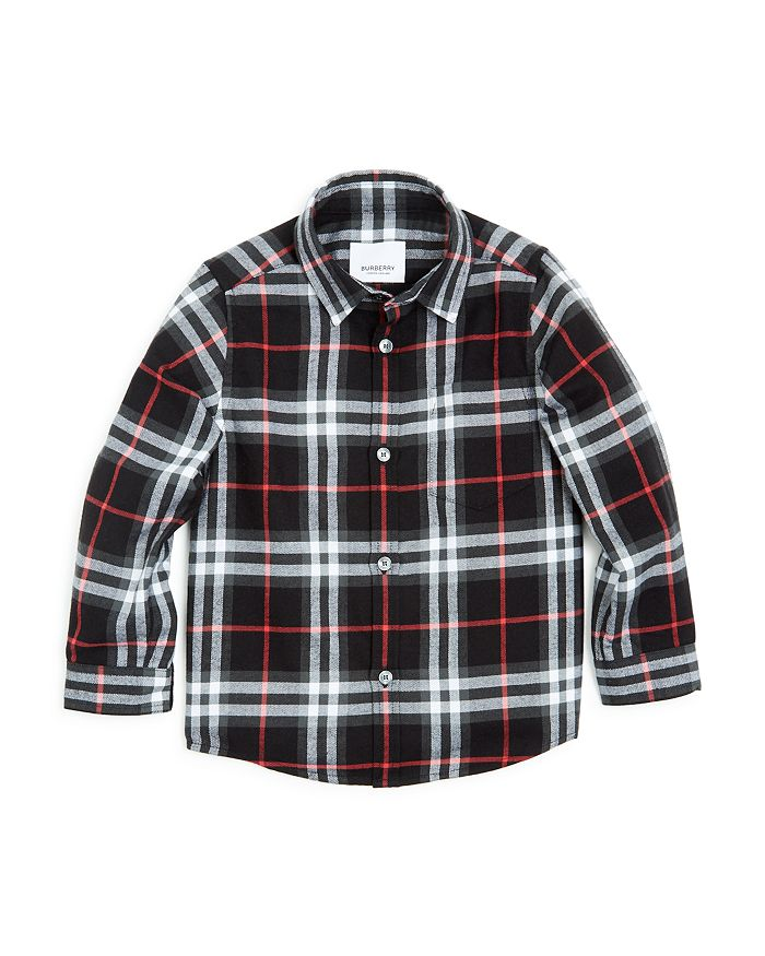 Burberry - Boys' Frederick Vintage Check Flannel Shirt - Little Kid, Big Kid