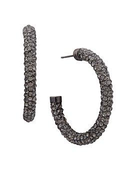 Ralph Lauren - Pavé Hoop Earrings