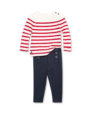 Ralph Lauren - Girls' Striped Nautical Top & Sailor Leggings Set - Baby