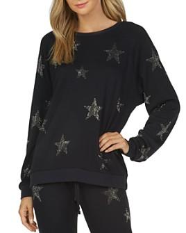 Michael Lauren - Oswald Embellished Star Sweatshirt