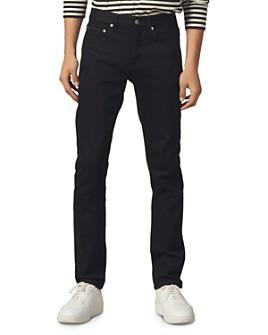 Sandro - Slim Fit Jeans in Dark Black