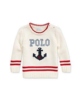 Ralph Lauren - Girls' Anchor & Logo Sweater - Baby