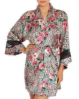In Bloom by Jonquil - Satin Wrap Robe