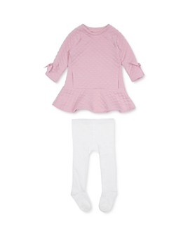 Habitual Kids - Girls' Waverly Quilted Dress & Tights Set - Baby