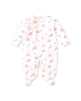 Kissy Kissy - Girls' Unicorn & Castle Print Footie - Baby