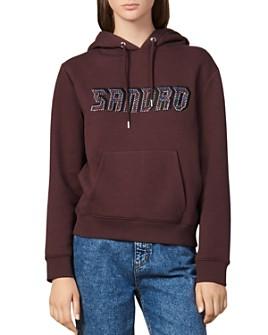 Sandro - Greyn Graphic Sweatshirt